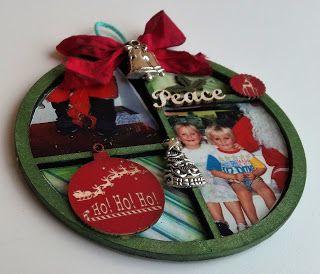 Scrapmatts: Christmas Ornaments By Rhonda