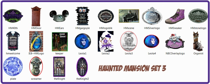 Haunted Mansion set 3