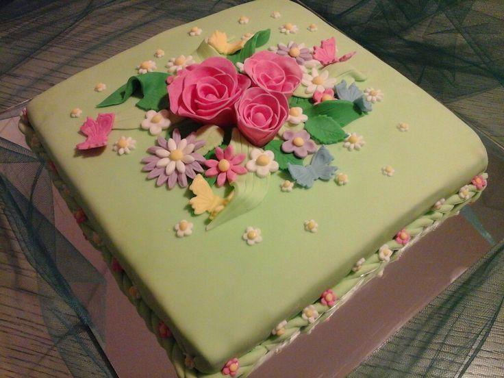 My cake for Athina 's birthday