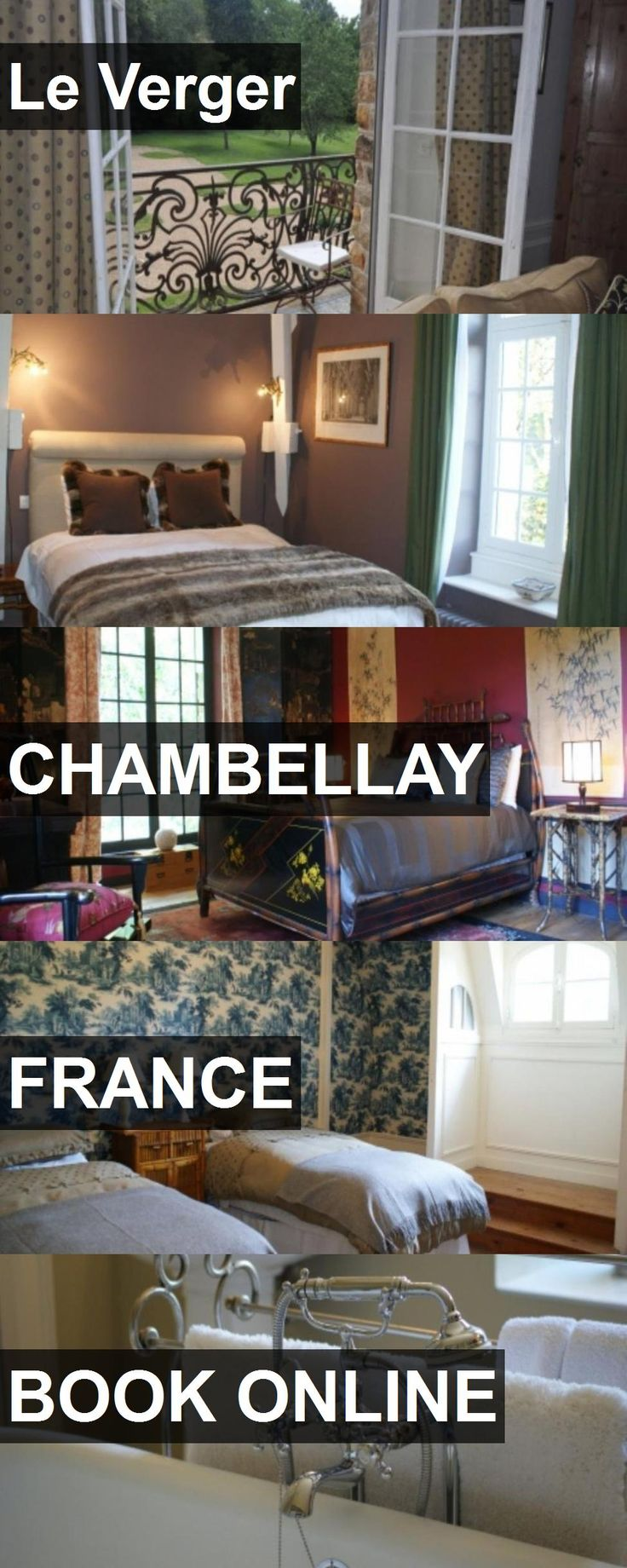 Hotel Le Verger in Chambellay, France. For more information, photos, reviews and best prices please follow the link. #France #Chambellay #travel #vacation #hotel
