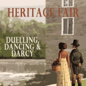 Duelling, Dancing & Darcy - Spencerville Heritage Fair Facebook Ad June 21-23