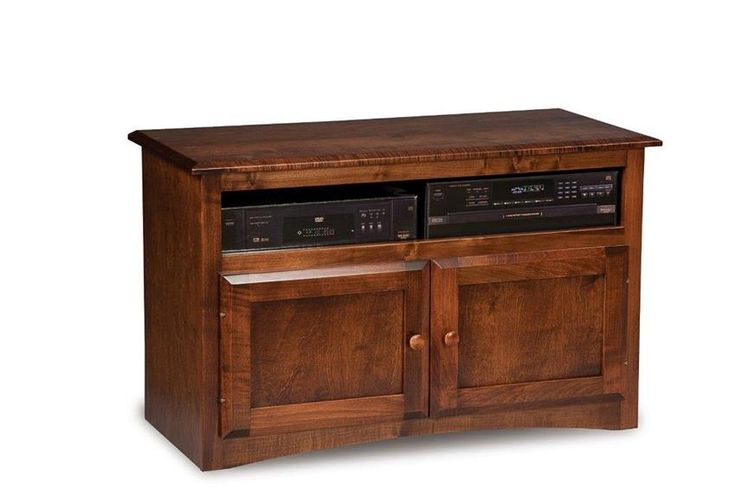 """Amish Durham 40"""" TV Stand Count on the Durham for stunning storage and display space."""