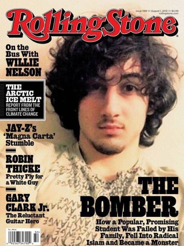 Rolling Stone magazine sales double after controversial 'Boston Bomber' cover - Americas - World - The Independent