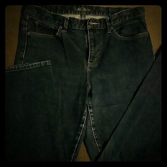 Ralph Lauren blue jeans Straight leg blue jeans color is great and ready to wear Ralph Lauren Pants Straight Leg