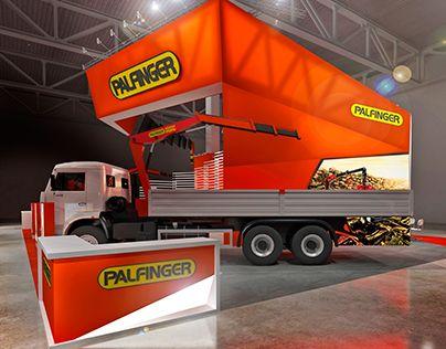 "Check out new work on my @Behance portfolio: ""PALFINGER"" http://be.net/gallery/36118785/PALFINGER"