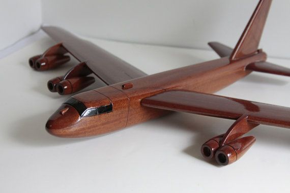 Vintage Wood Airplane Carved Wood Airplane by Fleaosophy on Etsy