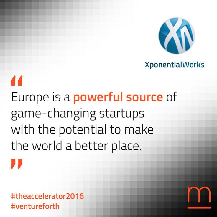 Ready for disruption? XponentialWorks will give #The Accelerator2016 #startups  a U.S. edge. Join The Accelerator – submit your company at: http://metavallon.org/the-accelerator/