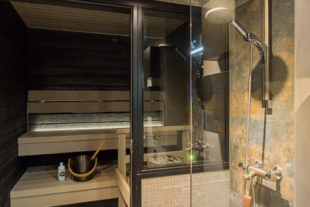 41 Äijä - Pesuhuone ja sauna