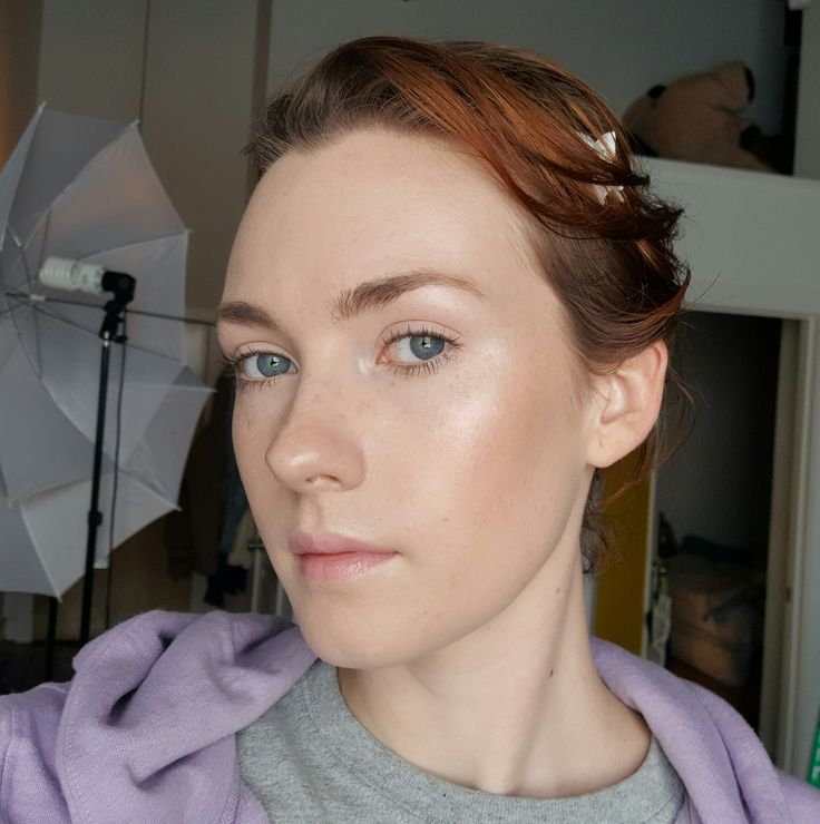 beautiful neutral look by scarycreature for redheads!