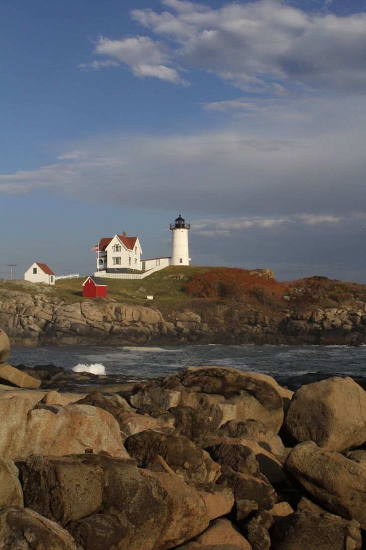 Nubble Lighthouse, York, Maine {photo by Katie Morris}
