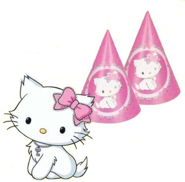 Hello Kitty 6ks čepiček | BALONKY .CZ