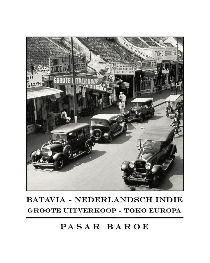 Batavia - Pasar Baroe
