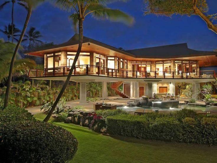 Beautiful Homes In Hawaii 281 best hawaii homes images on pinterest   hawaii homes, hawaiian