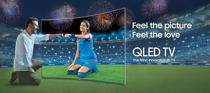 Samsung offers its QLED TVs with latest Quantum Dot Technology which gives viewing experience like never before. Explore complete range of QLED TV here & buy now.