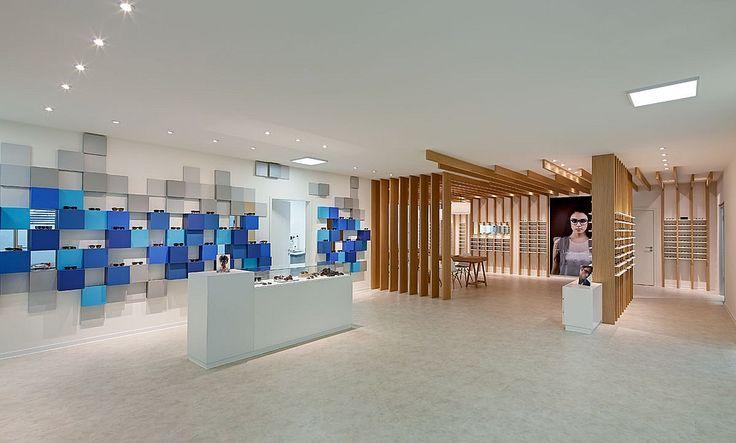 Breathtaking Retail Spaces | Optometrie Cagnolati by HEIKAUS Concept in Duisburg, Germany. #design #interiordesign #interiordesignmagazine #architecture #retail #decor