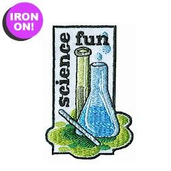 Science Fun Patch! Tons of Girl Scout Fun patches on PatchFun.com