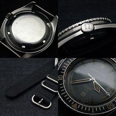 オメガ シーマスター 300 3rd ナイロンストラップ アンティークウオッチ – アンティーク時計通販専門店・タイムピース