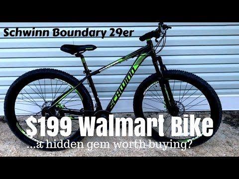 $199 Walmart Schwinn Boundary 29er - A cheap mountain bike