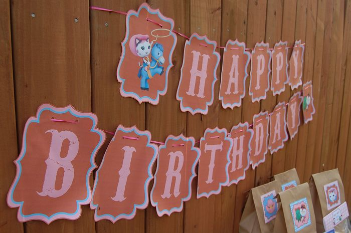 "Use this Free Printable Sheriff Callie birthday banner as part of your Sheriff Callie party decorations.  The free printable template includes letters to spell out the words ""Happy Birthday"" and two extra sheets featuring characters like Sheriff Callie, Toby and Deputy Peck.  In total your free Sheriff Callie banner will print off onto 15 Sheets …"