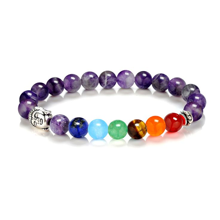 bead bracelet on sale at reasonable prices buy diezi yoga energy natural stone jewelry lava 7 chakra healing balance beads bracelet men women beads jewelry - Beaded Bracelet Design Ideas