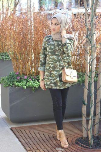 cargo shirt hijab style- Beautiful hijab trends 2016 http://www.justtrendygirls.com/beautiful-hijab-trends-2016/