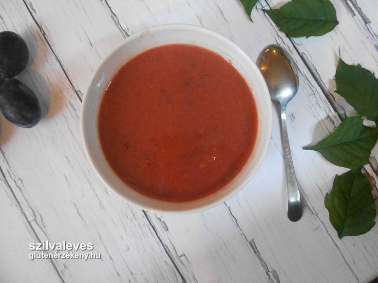 Sütőtökös szilvaleves - gluténmentes leves recept - tejmentes Sütőtökös szilvaleves – gluténmentes leves recept – nem csak gluténérzékenyeknek. Tejmentes, így tejfehérje allergiások és laktózérzékenyek is fogyaszthatják