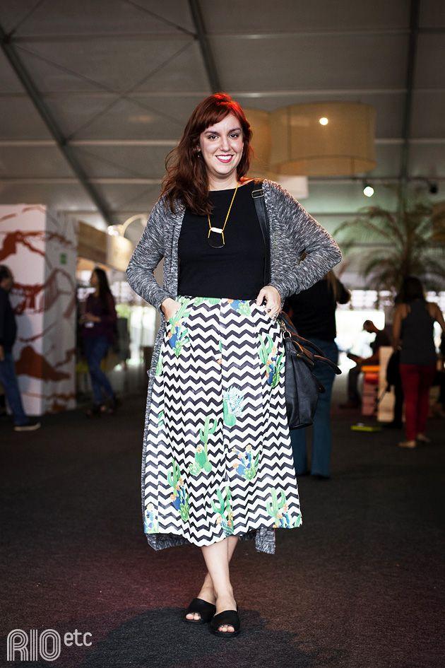 Betina Monte-Mór é formada em design de moda e trabalha na Radio Ibiza.