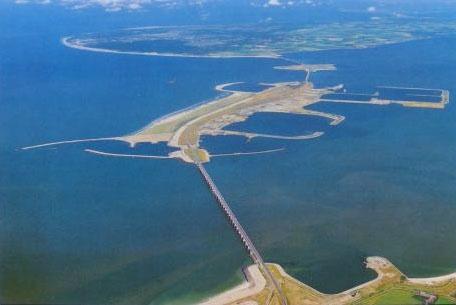 Delta Werken (Oosterschelde Stormvloedkering) (Zeeland)