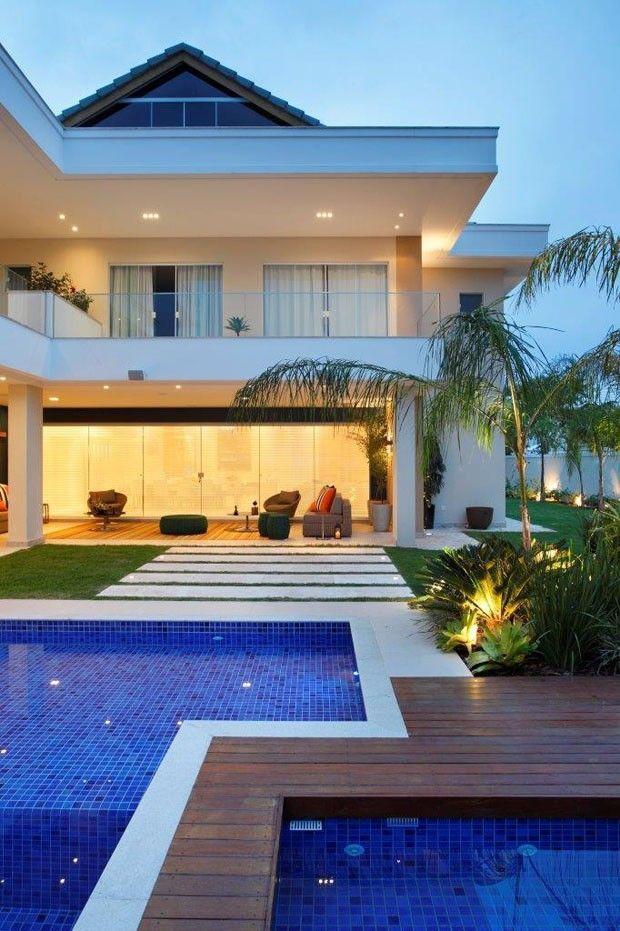 25 melhores ideias de plantas de casa moderna no for Casa moderna baratas