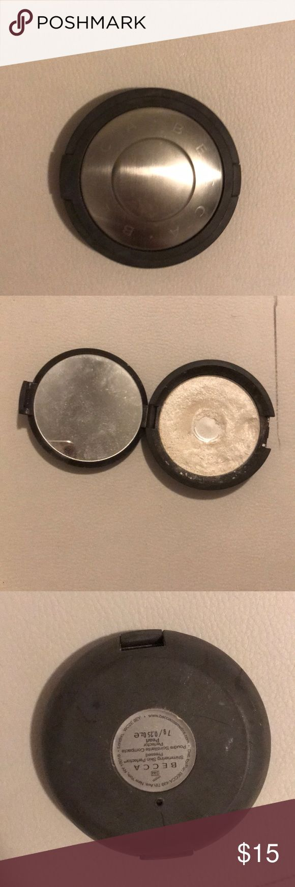 Becca pearl highlighter Gently used, still so much product left BECCA Makeup Luminizer