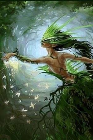 Lela, Slavic Goddess of the Forest