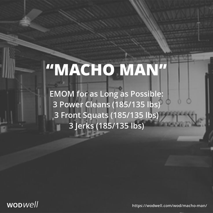 EMOM for as Long as Possible: 3 Power Cleans (185/135 lbs); 3 Front Squats (185/135 lbs); 3 Jerks (185/135 lbs)