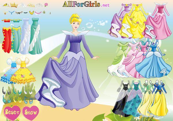 Printsess Tuhkatriinu Kost��mid