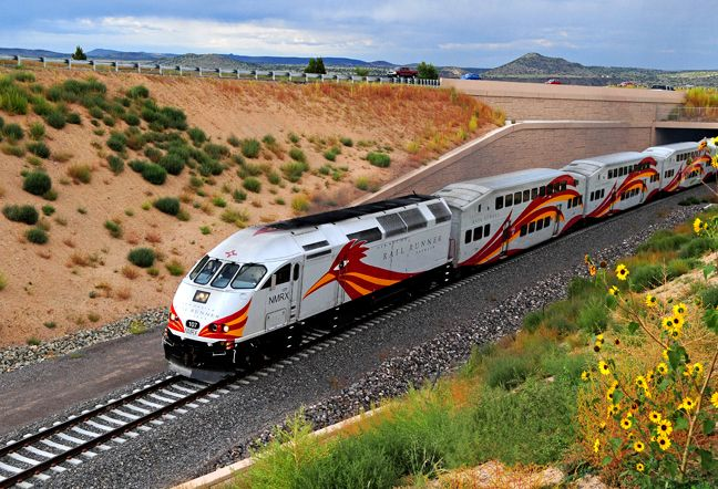 New Mexico Railrunner - Waldo Canyon - Commuter Service Between Belen, NM and Santa Fe, NM Commencing July 14, 2006