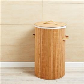 Laundry Hamper - Natural Bamboo