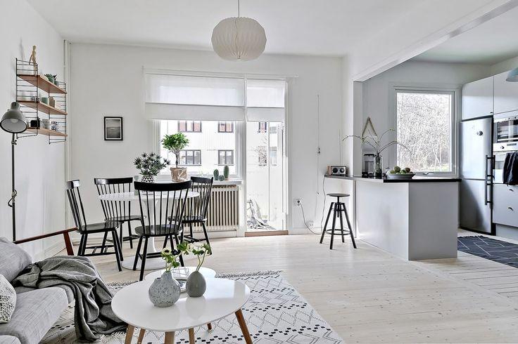Välkommen till en totalrenoverad lägenhet. Hökegårdsgatan 14 B - Bjurfors - www.bjurfors.se