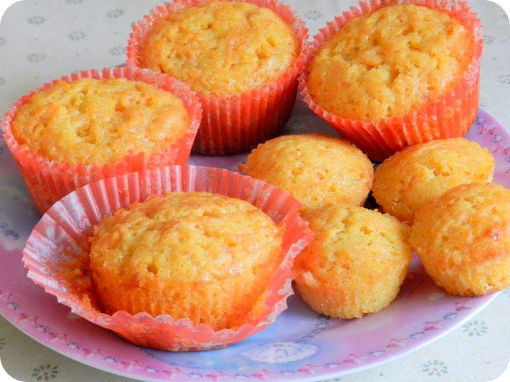 Морковно-апельсиновые кексы
