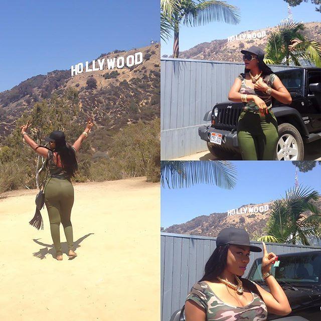 Daniella Okeke Shares Vacation Pictures In California .