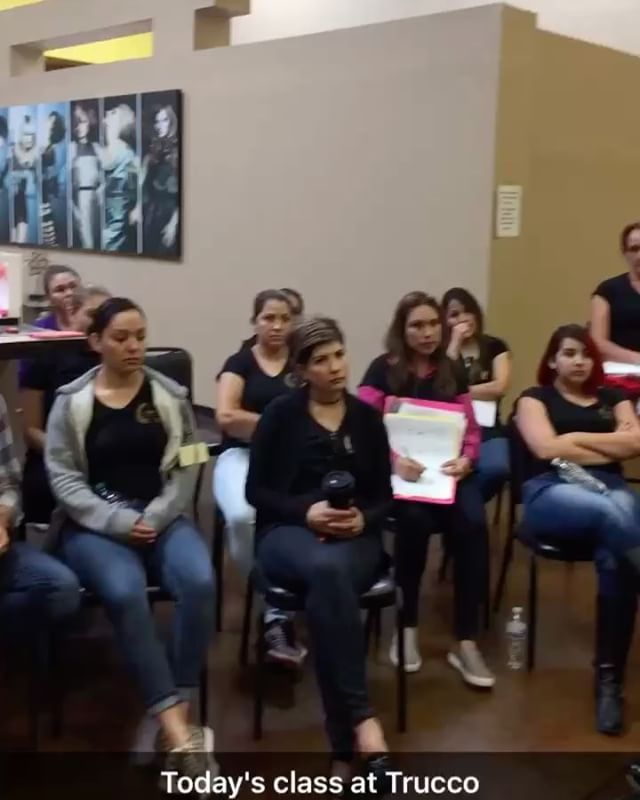 Great class @trucco_beauty_institute  @irstyle  Jinny Riddle Makeup Studio  Hair and Nails (915)820-0333 1280 Hawkins #140 El Paso, Tx 79925 www.Jinnyriddle.com @cosmogirl_75 http://tipsrazzi.com/ipost/1505594035241437406/?code=BTk8cxOg0je