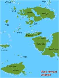 Kepulauan Raja Ampat, Indonesia