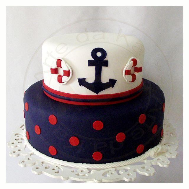 Bolo marinheiro ancora | Flickr - Photo Sharing!