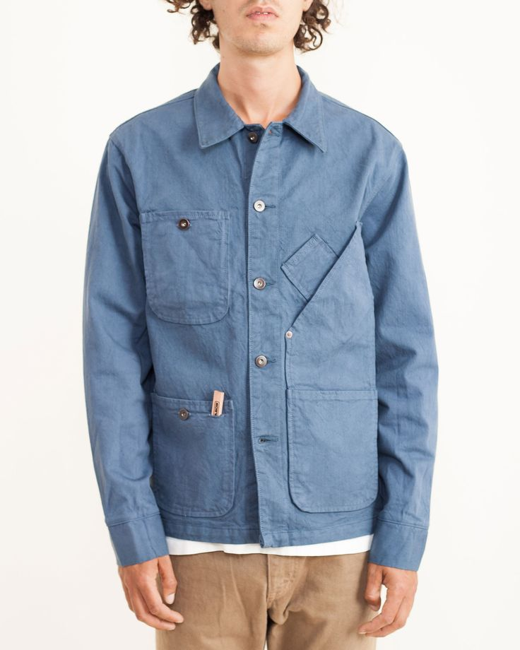 Coverall Jacket Garment Dyed in 13oz Candiani Denim by #Tellason