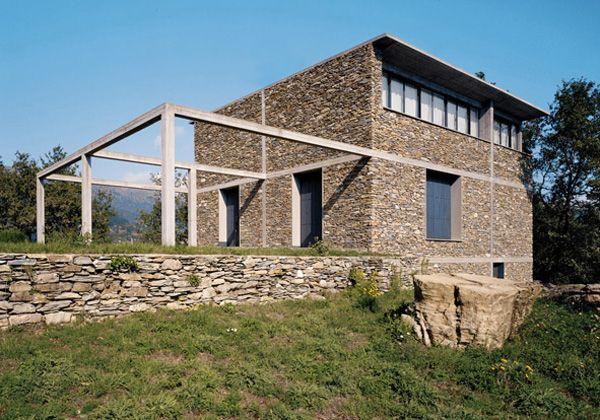 pietra e cemento ieri e oggi insieme casa di pietra di