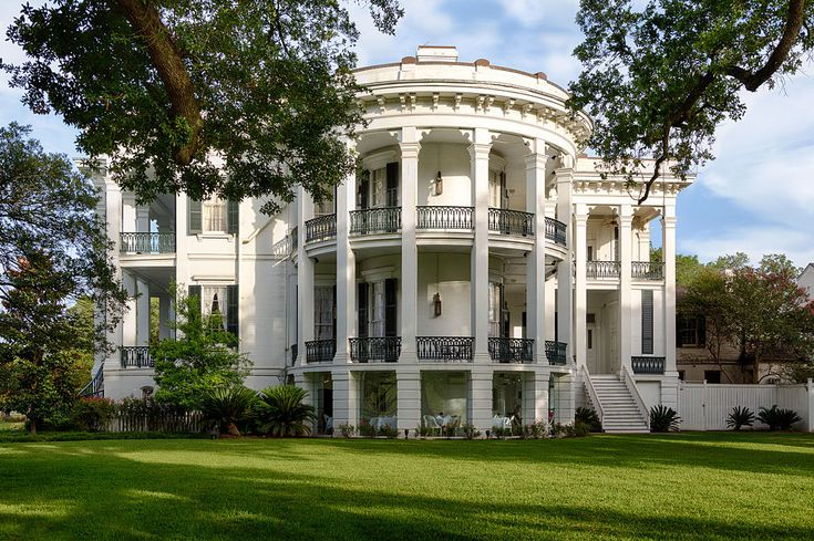 Vintage Mansion The Nottoway Plantation House A Greek
