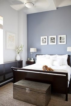 Paint Colors On Pinterest | Slate Blue Bedrooms, Java Gel Stains .
