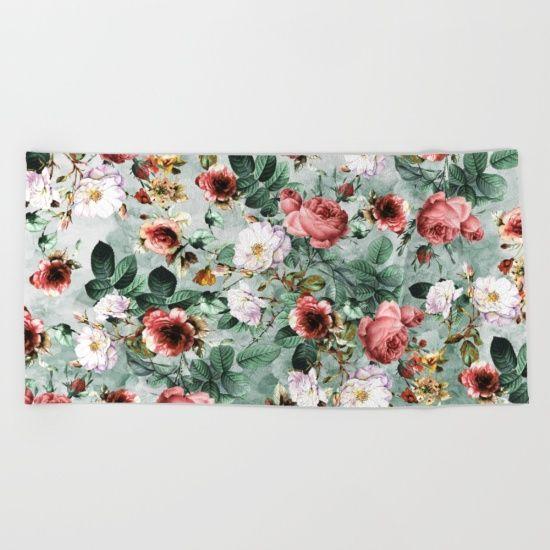 #floral #roses #botanical #art #fashion #home #homedecor