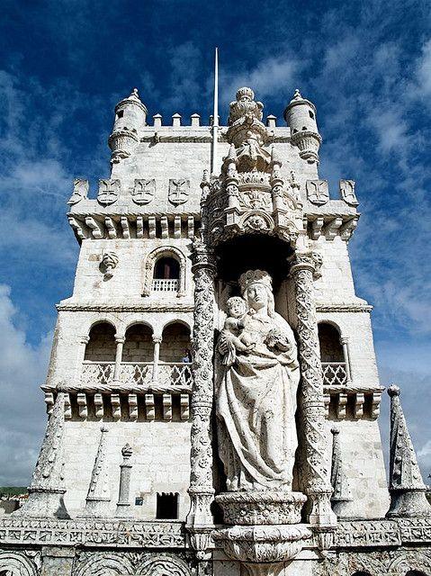 Torre de Belém, Lisbon,  Portugal #portulogia #Portugal #gourmet