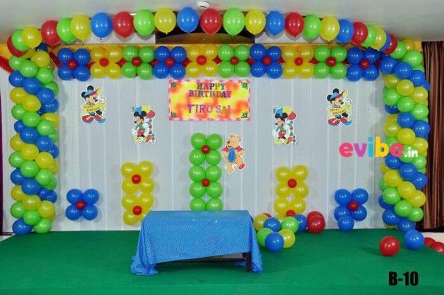 Basic Cartoon Theme Decoration Birthday balloon