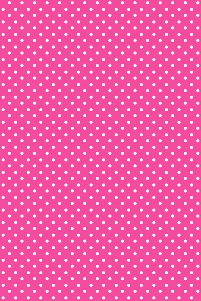 Polka dot iphone wallpaper