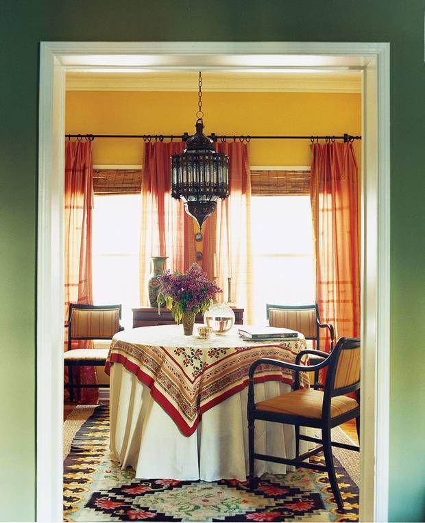 Best 25 Orange Kitchen Walls Ideas That You Will Like On: 25+ Best Ideas About Orange Dining Room On Pinterest